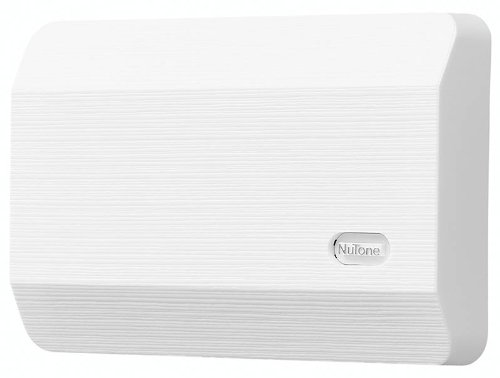 NuTone PB41LBR Wired Lighted Round Stucco Door Chime Push Button ...