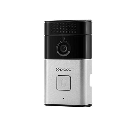 DIGOO Wifi 720P Video Doorbell, 6 in One Security Camera, Wireless