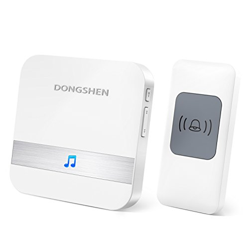 Wireless Doorbell Chime DONGSHEN Max 1000-feet Range With
