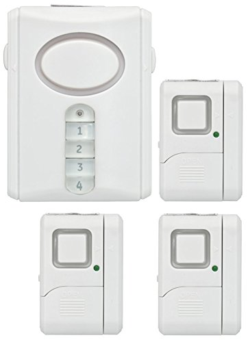 GE Personal Security Alarm Kit Includes Deluxe Door Alarm with Keypad Activation and Window/Door Alarms Easy Installation DIY Home Protection ...  sc 1 st  FewButtons & GE Personal Security Window/Door Alarm DIY Home Protection ... pezcame.com