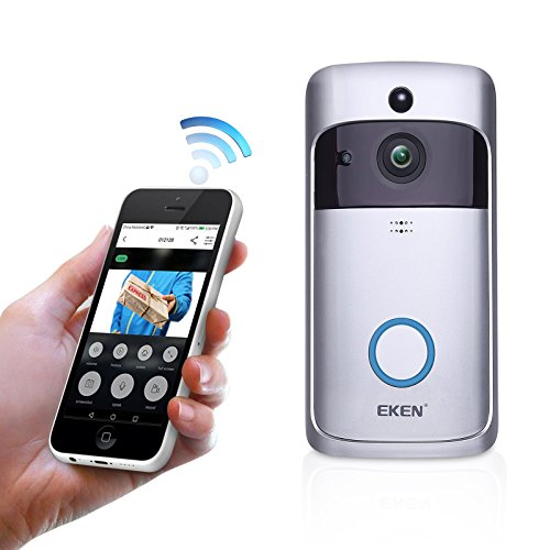 Smart Doorbell, EKEN WIFI Video Doorbell 2 HD 720P Security
