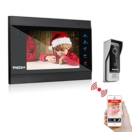 TMEZON 7 Inch Wireless/Wired Video Door Phone Wifi IP