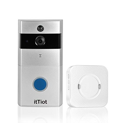 itTiot Video Doorbell, Smart Doorbell with Ding Dong/Chime