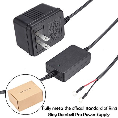 Power Supply Adapter Transformer for Ring Video Doorbell Pro by