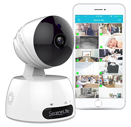Front Door Security Camera Iphone: HD 720p Network Security Surveillance Home Monitoring W