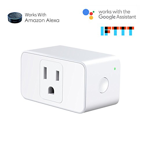 meross MSS620 WiFi Smart Outdoor Plug 2 Grounded Outlets, Plugin