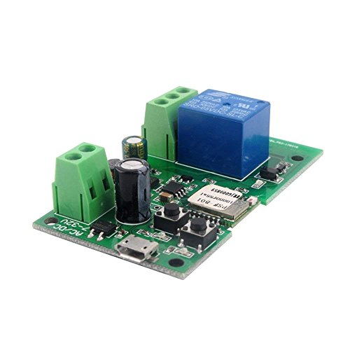 DIY 5V 12V Inching/Self-locking Wifi Switch Module 12 – FewButtons